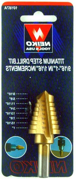 """NEIKO 10187A - 9/16"""" to 1"""" in 1/16"""" Increments Hand Tool Tit"""