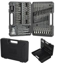 109-Piece BLACK+DECKER Screwdriver Drill Bit Set for Metal P