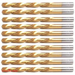 5/16 High Speed Steel Titanium Coated Twist Drill Bits for M