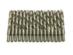 "15 Craftsman 1/2"" Drill Bits High Speed Steel 3/8"" Reduced S"
