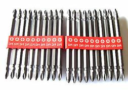 "20 IIT 4"" PHILLIPS #2 POWER DRILL SCREW DRIVER BITS"