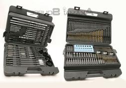204 PC Combination Drill Bit set HOLE SAW TORX POZI Masonry