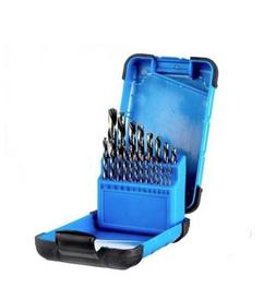 21-piece High Speed Steel Drill Bit Set by  Mastercraft