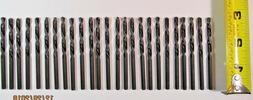 "25 PCS 5/32"" Drill Bit Set Black Oxide HSS Jobber Length Twi"