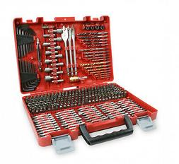 Craftsman Drill Bit Set 300 Piece Accessory Tool Kit Driver