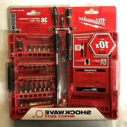 Milwaukee Electric Tool 48-32-4005 Shockwave Bit Set