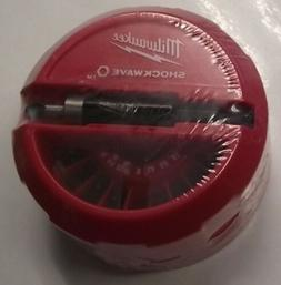 Milwaukee 48-32-4012 Shockwave Puck, 22-Piece
