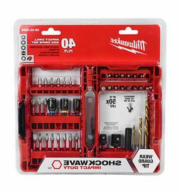 Milwaukee 48-32-4006 40pc. SHOCKWAVE Impact Duty Drill and D