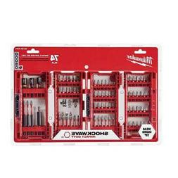 Milwaukee 48-32-4062 74-Piece Heavy-Duty Shockwave Impact Dr