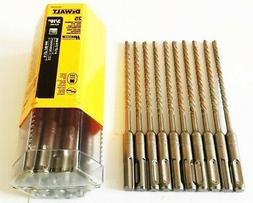 "5 DEWALT 6-1/2"" x  3/16"" SDS PLUS CARBIDE TIP MASONRY ROTARY"