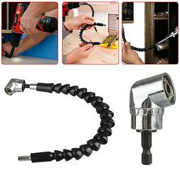 Right Angle Drill Flexible Shaft Bits Extension Screwdriver