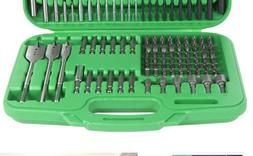 Hitachi 799962 120 Piece Drill Bit and Screwdriver Set, Impa