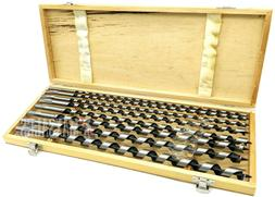 """8Pcs Auger Drill Bit Set 18"""" Extra Long Wood Drills With Woo"""