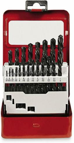 Craftsman 9-66020 21-Piece Black Oxide Drill Bits Set with S