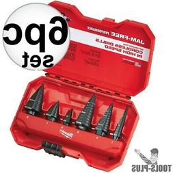 Milwaukee 48-89-9224 Step Bit 6-Piece Set