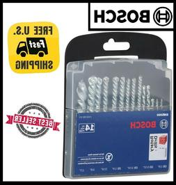 Bosch Fast Spiral Carbide Masonry Rotary Drill Bit Set for D