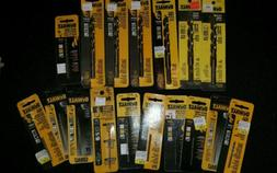 DEWALT HIGH SPEED STEEL DRILL BIT BUNDLE 17 PACKS SEE PHOTO