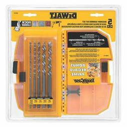 DeWalt DW5205 DeWalt 5 Pc. Premium Percussion Masonry Drill