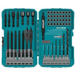 Makita T-01725 Impact Drill-Driver Bit Set, Black Oxide, 70-