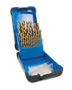 Mastercraft 29-piece Titanium Drill Bit Set