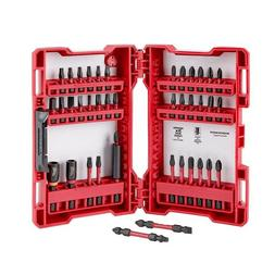 Milwaukee Shockwave Impact Driver Bit Set 40 Piece Impact Du