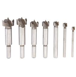 WARRIOR 62558 - 1/4 in - 1 in Forstner Drill Bit Set With 3/