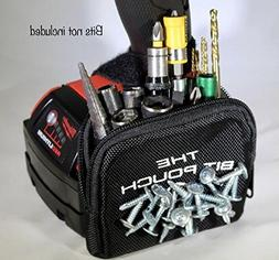 The Bit Pouch a Tough Magnetic Bit and Screw Bag for Your Dr