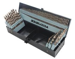 AccusizeTools - M35 HSS+5% Cobalt Premium 115 Pcs Drill Set,