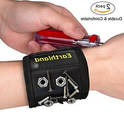 2Pcs Earthland Adjustable Magnetic Wristband/Magnetic Bracel