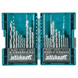 Makita B-44884 21 Pc. Assorted Metric Drill Bit Set