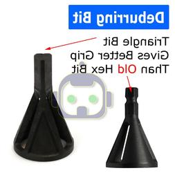 Black Deburring External Chamfer Stainless Steel Remover Cut