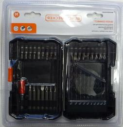 BLACK+Decker BDA36DDSDQC Drill & Drive Bit Set QUick Connect
