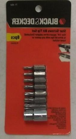 Black & Decker 71-464 Torx Bit Set, 8-Piece