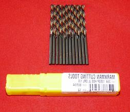 "MORSE COBALT PARABOLIC TAPER LENGTH 1/8"" DRILL.LOT OF 3. LIS"