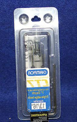 Champion Cutting Tool CT7-1 Inch Tungsten Carbide Tipped Hol