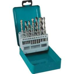 Makita D-59178 18 Pc. Assorted Drill Bit Set
