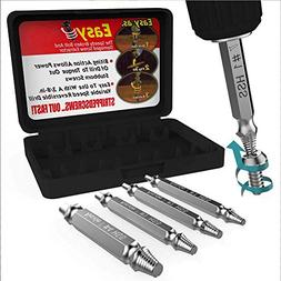 Damaged Screw Extractor and Remove Set by Aisxle,Easily Remo