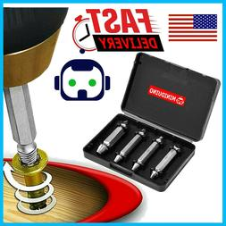 Damaged Screw Extractor Get It Out Drill Bits 4 PCS Tool Set