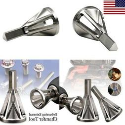 deburring external chamfer tool stainless steel drill