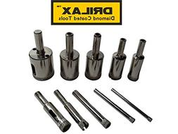 "Diamond Drill Bit Set 5/32"", 3/16"", 1/4"", 5/16"", 3/8"", 1/2"""