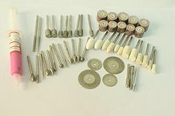 52 Pcs Diamond Mounted Sets for Jade and Stone Carving Engra
