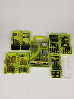 Ryobi Dockit Drill Driver Bit Set Lot of 4 with drilling and