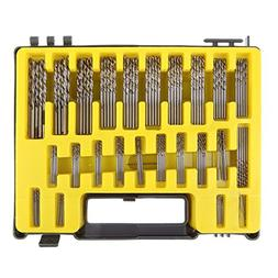 Awakingdemi Drill Bits,tHSS Twist Drill,150-piece Mini Twist