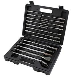 17 PC DRILL BITS & CHISEL SDS PLUS ROTARY HAMMER BITS SET FI