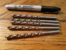 Drill Bits, Letter size B  , Lot of 5, Brand New
