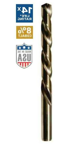 Century Drill and Tool 26206 Cobalt High Speed Steel Drill B