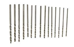 SE Drills, 15pc Metric Set w/Pouch, 1.05-2.0mm