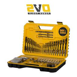 DeWalt DT71563 - QZ Combination Drill Bit Set 100 Pieces Mas