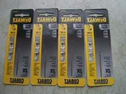"Dewalt DW1204 Size 1/16"" Cobalt Drill Bits Split Point  Cuts"
