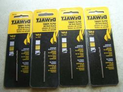 "Dewalt DW1205 Size 5/64"" Cobalt Drill Bits Split Point (4 DR"